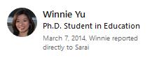 Winnie Yu